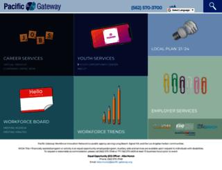 pacific-gateway.org screenshot
