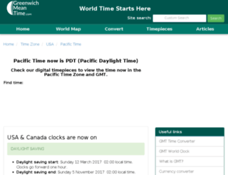 pacific-standard-time.com screenshot
