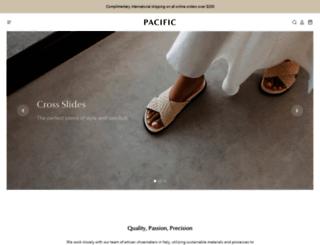 pacific-theme-warm.myshopify.com screenshot