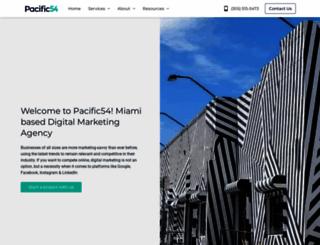 pacific54.com screenshot