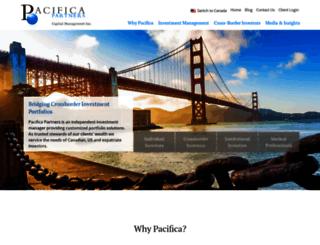pacificapartners.com screenshot