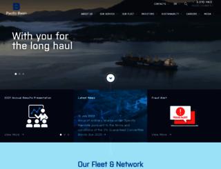 pacificbasin.com screenshot
