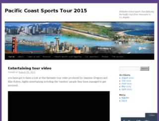 pacificcoast2015.com screenshot