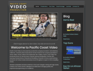 pacificcoastvideo.com screenshot