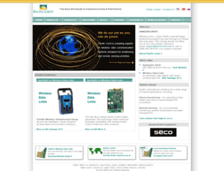 pacificcrest.com screenshot