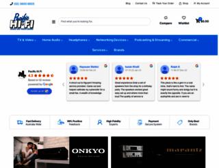 pacifichifi.com.au screenshot