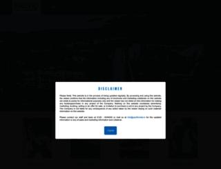 pacificindia.in screenshot