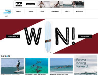 pacificlongboarder.com screenshot