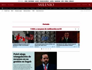 pacifico.milenio.com screenshot