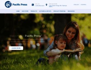 pacificpress.com screenshot