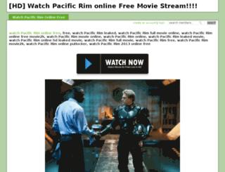 pacificrimstreaming.crowdvine.com screenshot