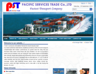 pacificsuntrans.com screenshot