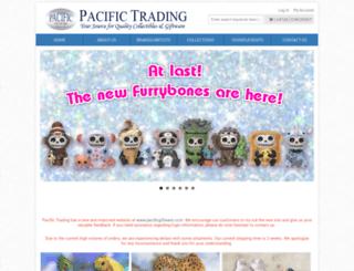 pacifictradingonline.com screenshot