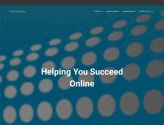 pacificwebsites.com screenshot