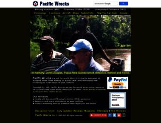 pacificwrecks.com screenshot