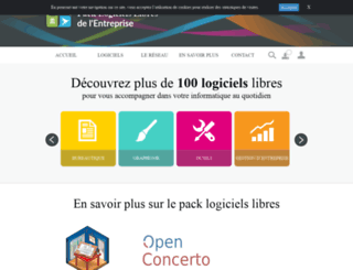 pack-logiciels-libres.fr screenshot