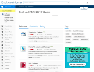 package.software.informer.com screenshot