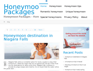 packages-honeymoon.com screenshot