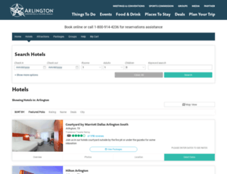 packages.arlington.org screenshot