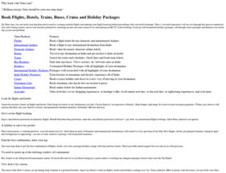 packages.yatra.com screenshot