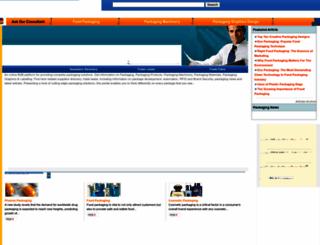 packagingconsultancy.com screenshot