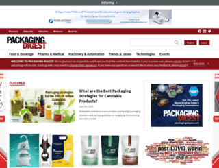 packagingdigest.com screenshot