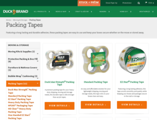 packagingtape.com screenshot
