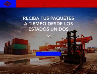 packandsendcargo.com screenshot