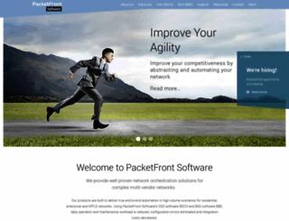packetfront.com screenshot