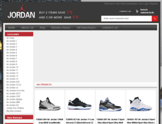 packjordans.com screenshot