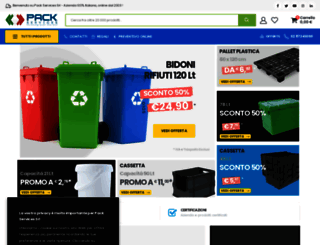 packservices.it screenshot