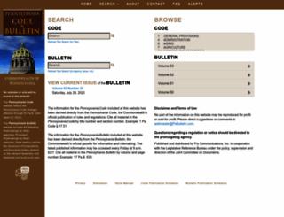 pacode.com screenshot