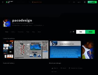 pacodesign.deviantart.com screenshot