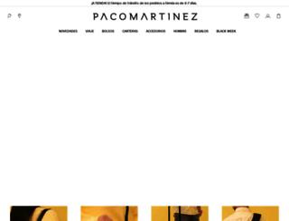 pacomartinez.com screenshot