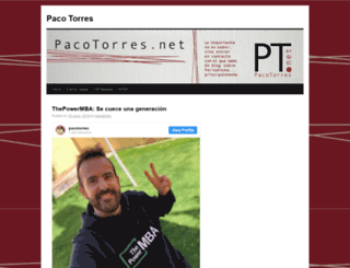 pacotorres.net screenshot