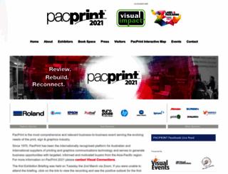 pacprint.com.au screenshot