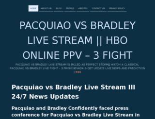 pacquiaovsbradleylivestreaming.net screenshot