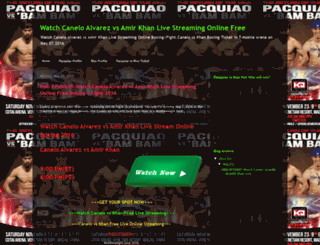 pacquiaovsrioslivestreamingonlinefree.blogspot.com screenshot