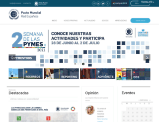 pactomundial.org screenshot