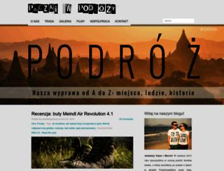 paczkiwpodrozy.pl screenshot