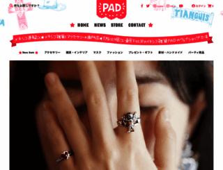 pad-mexico.com screenshot