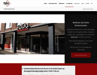 pada-parketstudio.nl screenshot
