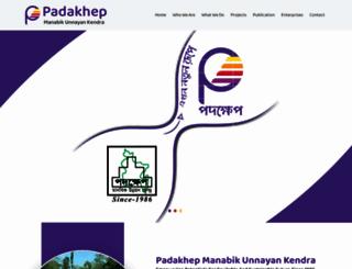 padakhep.org screenshot
