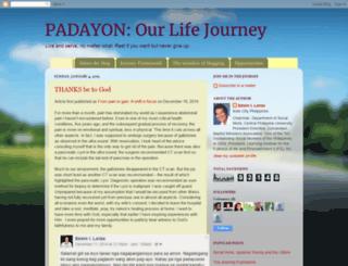 padayon-lifejourney.blogspot.com screenshot
