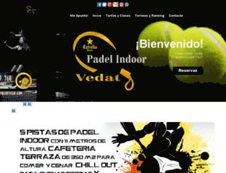 padelvedat.com screenshot