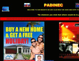 padinec.org screenshot