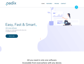 padix.co.uk screenshot