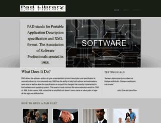 padlibrary.com screenshot