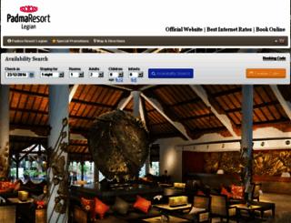 padmaresortbali.reserve-online.net screenshot