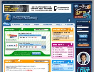 padmini.lottery.com screenshot